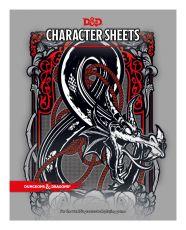 Dungeons & Dragons RPG Character Sheets (24) Anglická