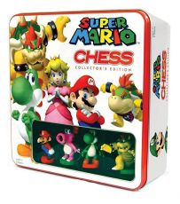 Super Mario Šachy Tin Box