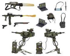 Aliens USCM Arsenal Weapons Příslušenství Pack for Akční Figures