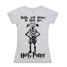 Harry Potter Easy Fit Dámské Tričko Dobby Velikost M