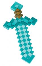 Minecraft Plastic Replika Diamond Sword 51 cm