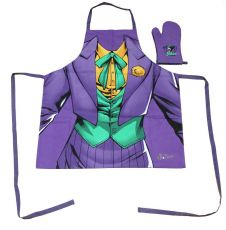 DC Comics cooking Zástěra with oven mitt The Joker