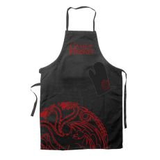 Game of Thrones cooking Zástěra with oven mitt Targaryen