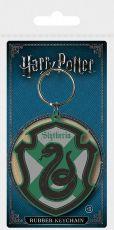 Harry Potter Gumový Keychain Zmijozel 6 cm