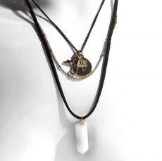 Harry Potter Náhrdelník & Pendants Deathly Hallows, Platform 9 3/4, Magic Crystal