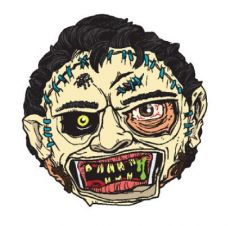 Texas Chainsaw Massacre Madballs Stress Ball Leatherface