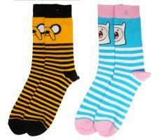 Adventure Time Dámské Ponožky 2-Pack Jake & Finn
