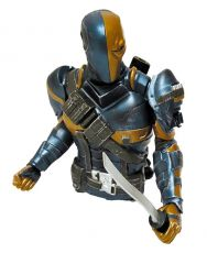 Batman Arkham Origins Bysta Pokladnička Deathstroke Previews Exclusive 15 cm