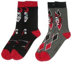 DC Comics Dámské Ponožky 2-Pack Harley Quinn