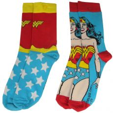 DC Comics Dámské Ponožky 2-Pack Wonder Woman