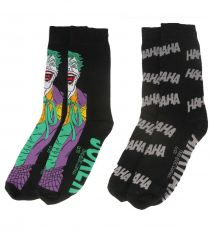 DC Comics Mens Ponožky 2-Pack Joker