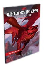 Dungeons & Dragons RPG Dungeon Master's Screen Reincarnated Anglická
