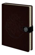Harry Potter Premium Poznámkový Blok A5 Bradavice Crest
