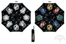 Harry Potter Rain Reactive Color Changing Umbrella Crests