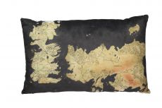 Game of Thrones Polštář Westeros Map 55 cm
