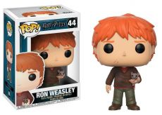 Harry Potter POP! Movies vinylová Figure Ron Weasley with Scabbers 9 cm