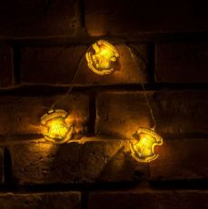 Harry Potter String Lights Bradavice Crests