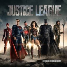 Justice League Kalendář 2018 English Verze