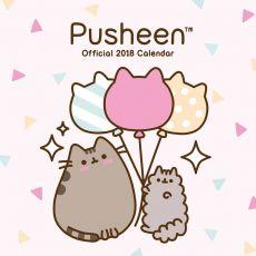 Pusheen Kalendář 2018 English Verze
