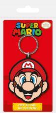 Super Mario Gumový Keychain Mario 6 cm