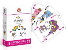 Chubby Unicorn Number 1 Playing Karty Německá Verze