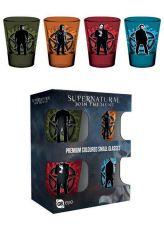 Supernatural Premium Sada Panáků 4-Pack Winchester Brothers