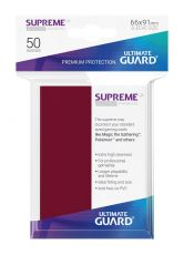 Ultimate Guard Supreme UX Sleeves Standard Velikost Burgundy (50)
