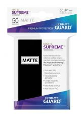 Ultimate Guard Supreme UX Sleeves Standard Velikost Matte Black (50)