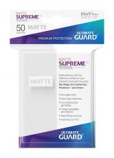 Ultimate Guard Supreme UX Sleeves Standard Velikost Matte White (50)