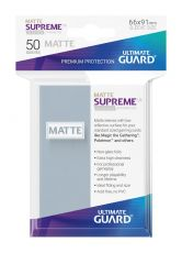 Ultimate Guard Supreme UX Sleeves Standard Velikost Matte Transparent (50)