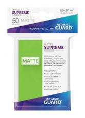 Ultimate Guard Supreme UX Sleeves Standard Velikost Matte Light Green (50)