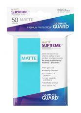 Ultimate Guard Supreme UX Sleeves Standard Velikost Matte Aquamarine (50)