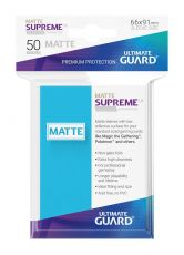 Ultimate Guard Supreme UX Sleeves Standard Velikost Matte Light Blue (50)