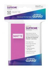 Ultimate Guard Supreme UX Sleeves Standard Velikost Matte Pink (50)