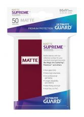 Ultimate Guard Supreme UX Sleeves Standard Velikost Matte Burgundy (50)