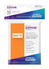 Ultimate Guard Supreme UX Sleeves Standard Velikost Matte Orange (50)