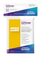 Ultimate Guard Supreme UX Sleeves Standard Velikost Matte Yellow (50)
