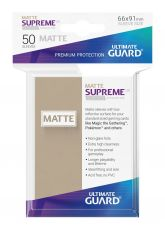 Ultimate Guard Supreme UX Sleeves Standard Velikost Matte Sand (50)