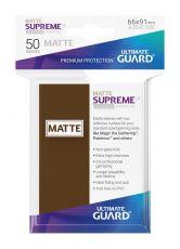 Ultimate Guard Supreme UX Sleeves Standard Velikost Matte Brown (50)