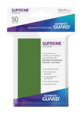 Ultimate Guard Supreme UX Sleeves Standard Velikost Green (50)