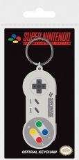 Nintendo Gumový Keychain SNES Controller 6 cm