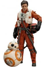 Star Wars Episode VII ARTFX+ Soška 1/10 2-Pack Poe Dameron & BB-8 7 - 18 cm