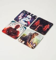 Star Wars Episode VIII Lenticular Podtácky 4-Pack