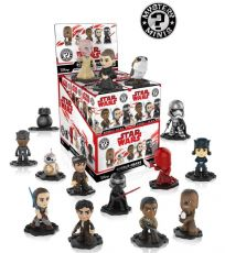 Star Wars Episode VIII Mystery Minis vinylová Mini Figures 6 cm Classic Display (12)