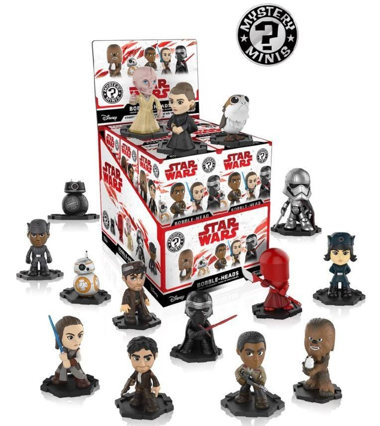 star wars episode viii mystery minis vinyl mini figures 6 cm display. Black Bedroom Furniture Sets. Home Design Ideas