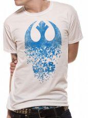 Star Wars Episode VIII Tričko Jedi Odznak Explosion Velikost M