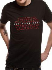 Star Wars Episode VIII Tričko Logo Velikost M