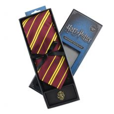 Harry Potter Tie & Metal Pin Deluxe Box Nebelvír