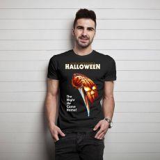 Halloween Tričko Film Plakát  Velikost M