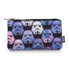 Star Wars by Loungefly Coin/Cosmetic Bag Ombre Stormtrooper Head